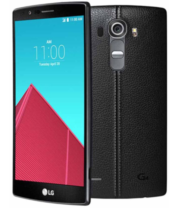 Смартфон LG H815 G4 (Genuine Leather Black)