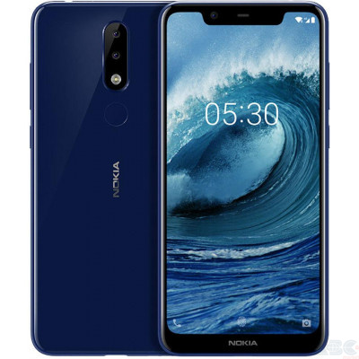 Смартфон Nokia X5 2018 4/64GB Blue