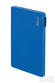 Внешний аккумулятор (Power Bank) Trust Power Bank 2200T Ultra-thin Charger Blue pattern (20914)