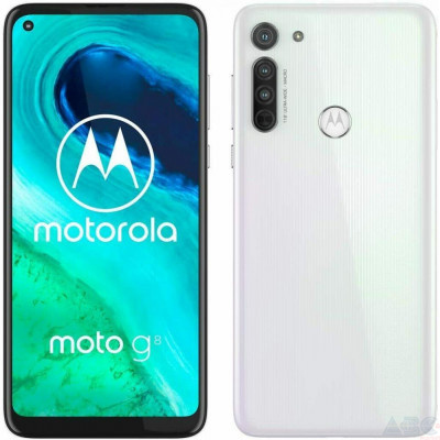Смартфон Motorola Moto G8 4/64GB White (PAHL0010RS)