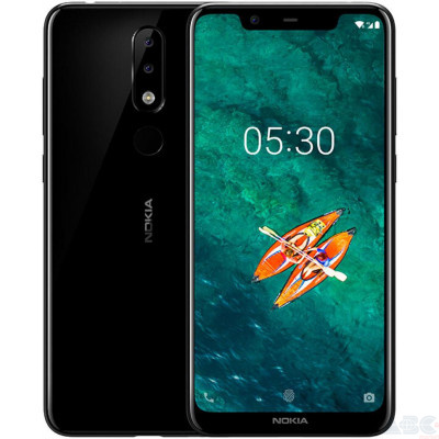 Смартфон Nokia X5 2018 4/64GB Black