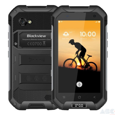 Смартфон Blackview BV6000 (Black)